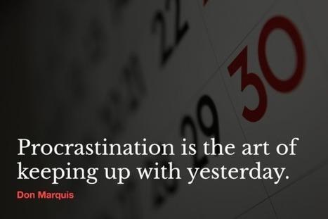 3 Ways to Prevent and Stop Procrastination I Matt Boyd   Entretiens Professionnels   Scoop.it