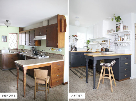 Kitchen Remodels - Before And After | Home Decor Designs | Scoop.it