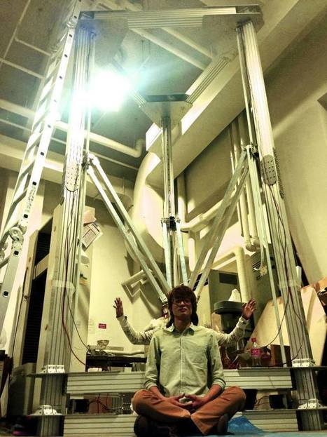 Japanese Designers Create a Huge Delta 3D Printer – 4 Meters Tall | Artes y Partes | Scoop.it