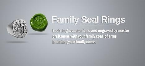 Family Seal Rings   Family Pride   Scoop.it