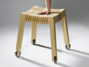 The Flexible Stool. Posted by National Institute Of Design on Archh | Architecture & Interior Design network | Scoop.it