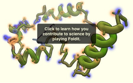 Solve Puzzles for Science | Foldit | Teaching in the XXI century | Scoop.it