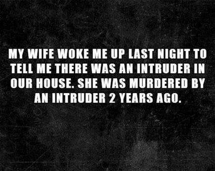 10 Terrifying Two Sentence Horror Stories | Public Relations & Social Media Insight | Scoop.it