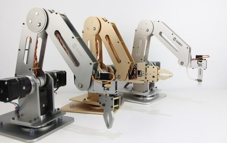 Dobot Open Source Arduino Robotic Arm Launches On Kickstarter (video) - Geeky Gadgets   Raspberry Pi   Scoop.it