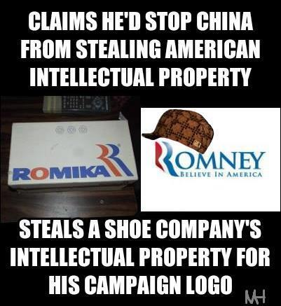 Romney Stole Logo from Shoe Company | Educating Voters and Promoting the Vote | Scoop.it