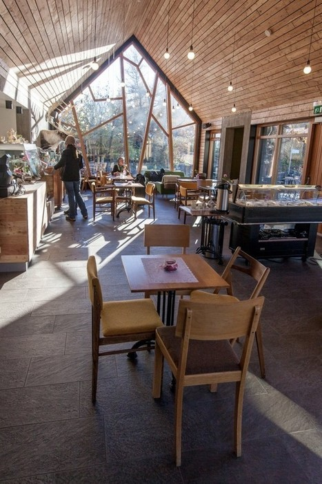 Cafe in the Botanical Gardens by Kollgata Arkitektur » CONTEMPORIST | Idées d'Architecture | Scoop.it