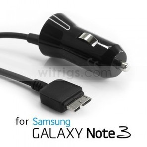 Premium In-Vehicle Charger for Samsung Galaxy Note 3 Black   Gadgets & Professional Repair Tools for smartphones   Scoop.it