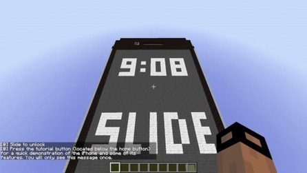 A Working iPhone Built In Minecraft | Current Tech | Scoop.it