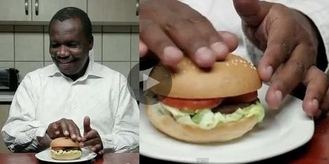 Des hamburgers en braille pour les aveugles | Les Miscelanées | Scoop.it