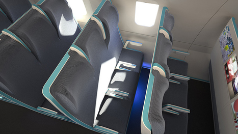 Morph: a bold seating concept for flexible air travel | Transportation Station | Scoop.it