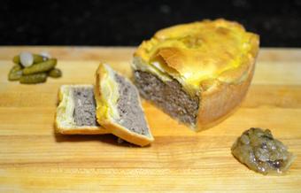 Latvian Hare Trio, Part 3: Hare Cheese, Onion Jam, Cornichons | Latvian cuisine | Scoop.it