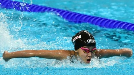 10-year-old girl becomes youngest ever to swim at World Championships   Children First   Scoop.it