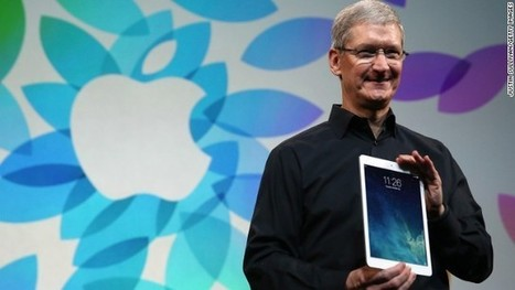 Apple unveils lighter iPad Air | Learning with Mobile Devices | Scoop.it