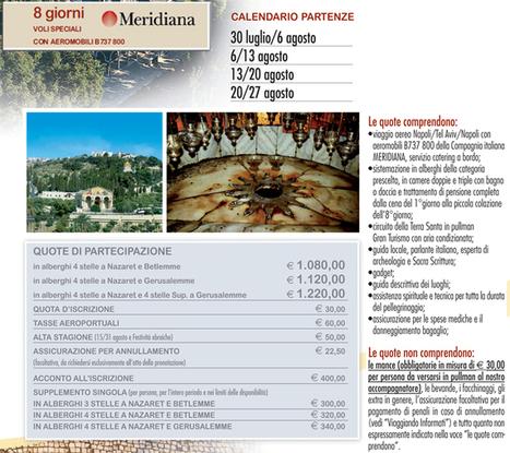Pellegrinaggio Terra Santa | Pellegrinaggi di Fede | Scoop.it