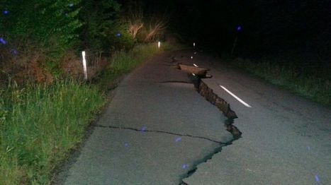 New Zealand earthquake: Two dead following powerful tremor - BBC News | Lorraine's Landscapes and landforms | Scoop.it