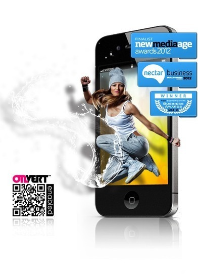 onvert.com - QR code and augmented reality in one | Create Augmented Reality for Free | More than a QR Code | 3D Advertising | Augmented Reality News and Trends | Scoop.it