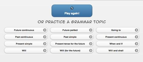 Grammar Gamble - online quizzes | TELT | Scoop.it