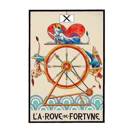 La Roue de Fortune by Jamie Hewlett | #Design | Scoop.it