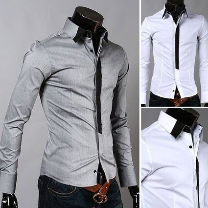 Men Dress Clothing Mens Casual Shirts Fitted Mens Shirts Men Party Shirt #MS035-in Casual Shirts from Apparel & Accessories on Aliexpress.com   Men Apparels   Scoop.it