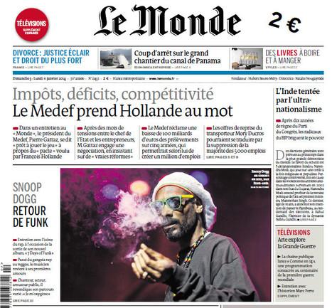 Le Parisien, Libération et Le Monde augmentent leur prix de vente | DocPresseESJ | Scoop.it