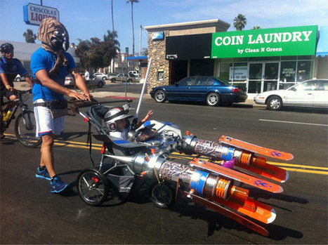 Tusken Raider Pushes a Pod Racer Stroller – Why Not?   All Geeks   Scoop.it