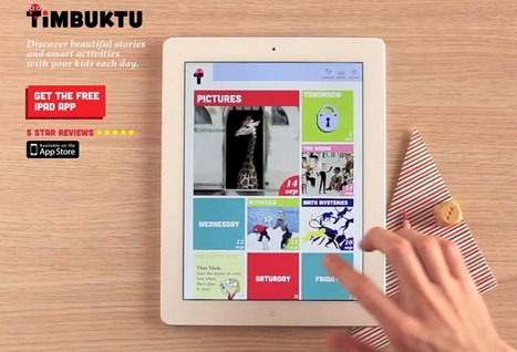 Timbuktu - iPad magazine for children | ipad Technology | Scoop.it