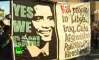 Stockholm : manif contre Obama et la guerre | Saif al Islam | Scoop.it