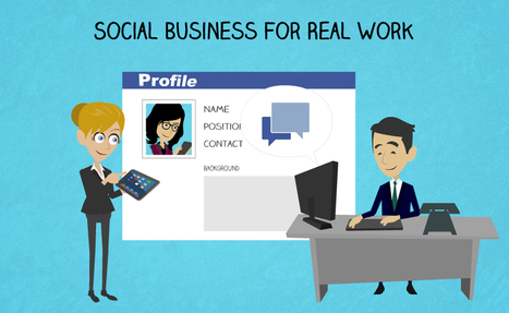 Social Business For Real Work | The Social Enterprise ... - BroadVision | Social intranet | Scoop.it