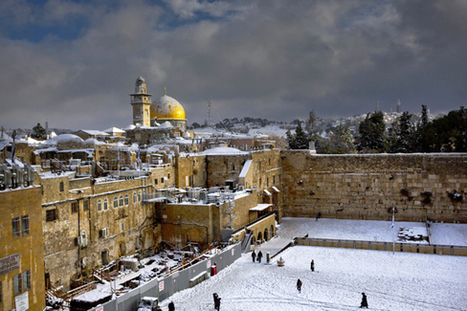 Rare Snowstorm Hits the Middle East | Als Return to Education | Scoop.it