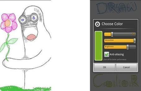 Draw(er), divertida app gratuita para dibujar en tu Android | Recull diari | Scoop.it
