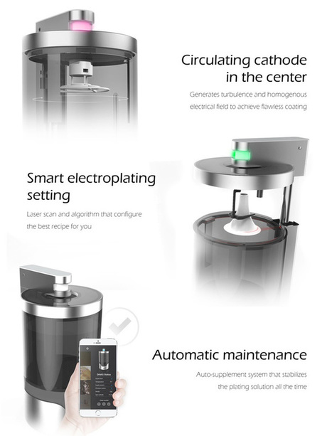 Electroplate Your 3D Prints with the Orbit1 | Managing Technology and Talent for Learning & Innovation | Scoop.it