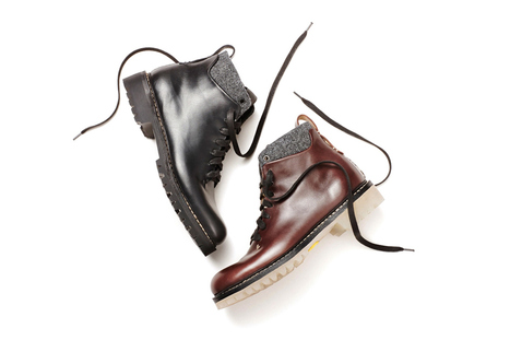 FEIT Semi-Cordovan 8-Eye Lace Up Boot | #Design | Scoop.it