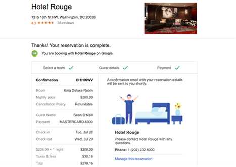 Google quietly adds instant booking for hotels, copying TripAdvisor - Tnooz | eT-Marketing - Digital world for Tourism | Scoop.it