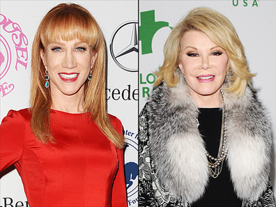 """Kathy Griffin on Replacing Joan Rivers on Fashion Police: """"I'm a Different ... - Us Magazine 
