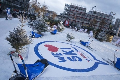 Intersport crée une station de sport d'hiver éphémère dans Paris | streetmarketing | Scoop.it