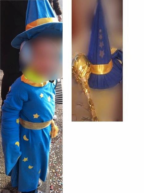 Fabriquer un déguisement de magicien comme Merlin l'Enchanteur | Fêter Carnaval, jeux, déguisements,.. | Scoop.it