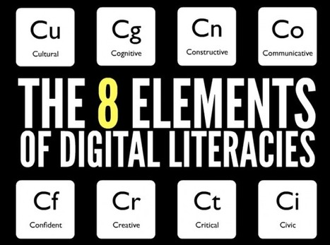 The 8 Key Elements Of Digital Literacy   Edudemic   ICT in Schools   Scoop.it