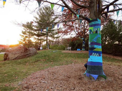 Yarn bOMbing at Mich. State Univ. October 2013 | yarn bombing | Scoop.it