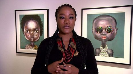 Nigerian artist Emefiele: 'My glasses protect women' - BBC News | Re Africa News | Scoop.it