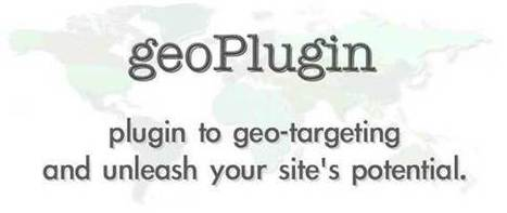 geoPlugin's free and easy Javascript geolocation webservice explained | Web Programming | Scoop.it