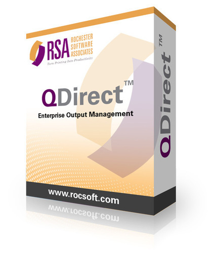 Rochester Software Associates Previews New QDirect Output Manager Software Release at Print 13 | In-Plant News & Resources | Scoop.it