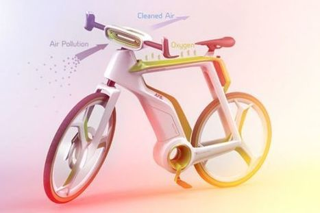 This Bicycle Purifies the Air as you Ride It | Technology in Business Today | Scoop.it