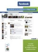 Pratiques des médias sociaux chez les collégiens et lycéens : l'exemple de Facebook — Enseigner avec le numérique — Éduscol numérique | Réseaux sociaux _social networks | Scoop.it