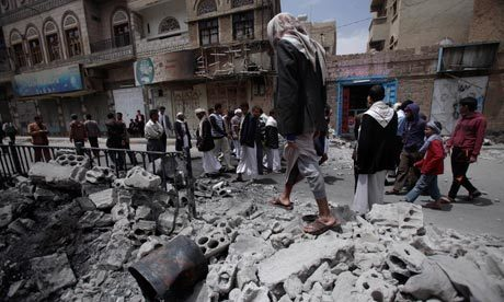 Security forces blanket Yemen capital to enforce state of emergency   Coveting Freedom   Scoop.it