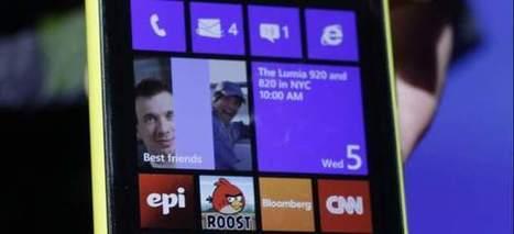 Nokia Lumia 920 arrebata al iPhone el título de mejor pantalla - 20minutos.es | Celulares de alta gama | Scoop.it