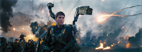 Edge of Tomorrow dans la vraie vie : une longue journée pour Emily Blunt et Tom Cruise | Edge of Tomorrow - Premiere Stunt | Scoop.it