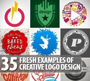 35 Fresh Examples Of Creative Logo Design | logos | Tech Design Blog | timms brand design | Scoop.it