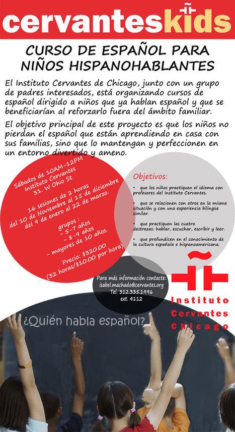Español para niños hispanohablantes | Spanish in the United States | Scoop.it