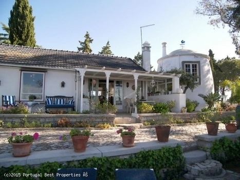 Property with two cottages, a windmill and pool in S. Brás de Alportel, S. Brás de Alportel | Portugal Best Properties | Scoop.it