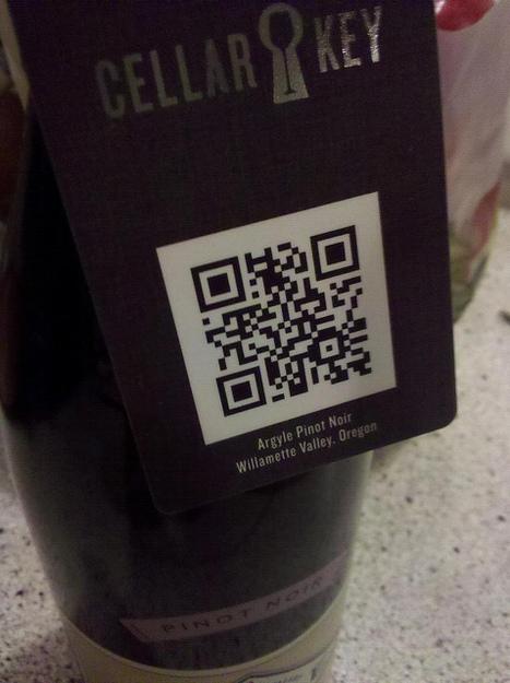 QR code on wine  | Cellar Key | Tag 2D & Vins | Scoop.it